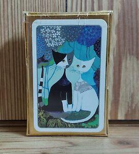 David Westnedge Playing Cards Rosina Wachtmeister Cats Sealed