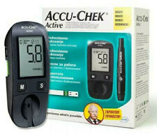NEW Accu-Chek Active Blood Glucose Meter mmol/L