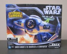 Darth Vader's Tie Advanced x1 Starfighter STAR WARS Saga Collection MIB