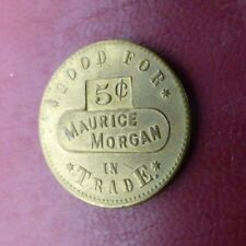 The Brunswick Balke Collender Co. token - Good for 5¢ in Trade, Maurice Morgan