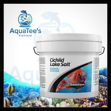 Seachem Cichlid Lake Salt 4KG Electrolytes & Minerals for African Cichlids Tank