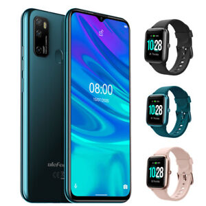Ulefone Note 9P 64GB Smartphone OctaCore Dual SIM Cell Phone with Opt Smartwatch