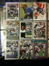 EMMITT SMITH 9 Card Lot Cowboys Gators