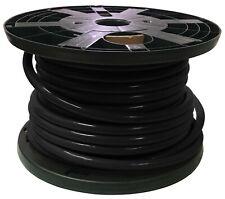 100 FT Black 4/0 AWG Gauge Bulk Battery Cable Switch Starter Ground 100% Copper