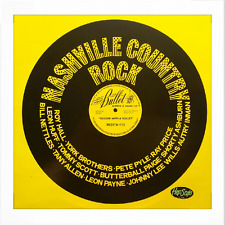 """LP / VA - ✦✦ NASHVILLE COUNTRY ROCK ✦✦ """"Boogie With A Bullet"""""""
