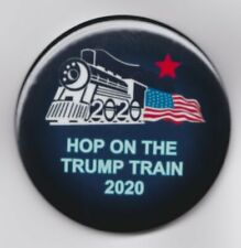 Trump Button Lot of 12 Wholesale Jump On the Trump Train 2020 Free Shipping! USA
