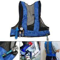 Vortex Tube Air Conditioner Waistcoat Compressed Air Cooling Welding  Steel Vest