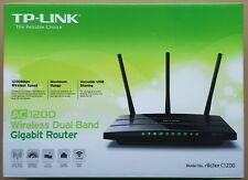 TP-Link Archer C1200 Dual Band Gigabit WLAN Router *COMPLETE*