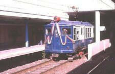 Boston Mta Original Slide Subway Train Car 0521 Decked Out With Butting April 83