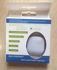 Anti Lost Anti Theft Bluetooth Alarm Device Key Finder Tracker GPS White Colour