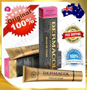 Original Dermacol Make-up Cover Legendary High Covering Foundation Makeup 30g