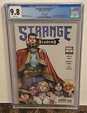 Strange Academy # 1 CGC 9.8 3RD Print Ramos Multiple 1st Appearances