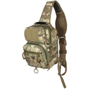 Viper Military Shoulder Pack Molle Carry Bag Hiking Travel 10L V-Cam Camouflage