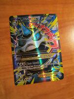 NM Mega FULL ART Pokemon M GLALIE EX Card BREAKTHROUGH Set 156/162 XY Ultra Rare