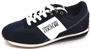 VERSACE JEANS COUTURE MAN SNEAKER SHOES SPORTS CASUAL TRAINERS CODE E0YUBSE1