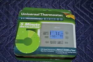 Hunter Energy Saver Programmable Thermostat Model 44272 2/Heat 2/Cool