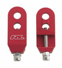 """BICYCLE BIKE BMX  Redline 3/8"""" red Chain Tensioners Pair red new"""