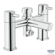 GROHE 25109 Concetto Bath/Shower Mixer w/ Diverter Lever Handles Chrome 25109000