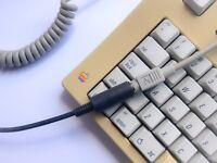 tinkerBOY ADB to USB Keyboard/Mouse Active Converter Adapter Apple Desktop Bus