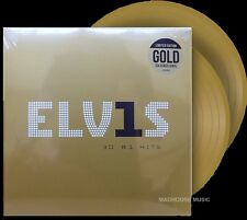 Elvis Presley 30 #1 Hits 2 LP Gold Coloured Vinyl