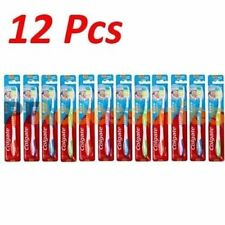 12 Pcs Colgate Extra Clean Toothbrush Soft Full Head Bulk Lot Assorted Color