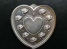 Especially For You Heart Shaped Silver Art Medal P2657