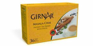 Girnar Instant Tea Premix with Masala, 36 Sachets