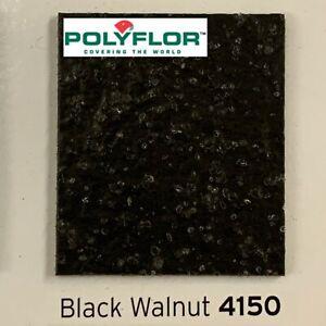 POLYSAFE STANDARD BLACK WALNUT 4150 - KITCHEN, BAR AREA, CAFE - ANTI SLIP VINYL