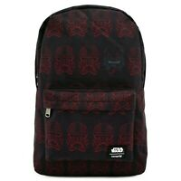 LOUNGEFLY X STAR WARS RED SITH TROOPER NYLON BACKPACK - NEW!