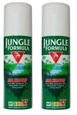 2x Jungle Formula Maximum Aerosol Spray 150ml IRF4 50% DEET Insects Midges