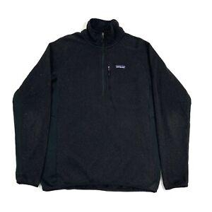 Patagonia Better Sweater 1/4 Zip Fleece Jacket. Men's L