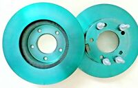 Genuine Jaguar XJ40 Front Brake disc pair  JLM20341