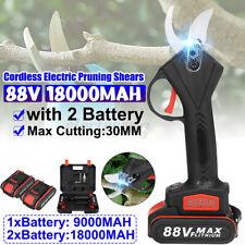 88V Cordless Forbice da potatura a batteria elettrico Con 2Pz 9000mah Batterie