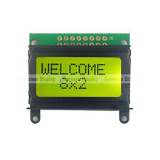 8x2 0802 802 Charactrer LCD Module Display Screen LCM STN With Backlight