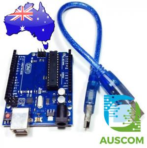 Arduino Compatible Uno R3 ATMega328P + USB Cable
