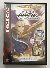 Avatar The Last Airbender Quickstrike Trading Card Game 62 cards, 2 maps & book