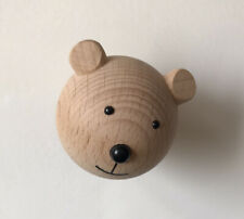 Scandiborn Mini Bear Wooden Hook