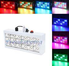 FARO 18 LED RGB FARETTO EFFETTI LUCE STROBO COLORI PROIETTORE DA DISCOTECA FESTE