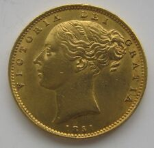 1851 VICTORIA SOVEREIGN FROM R.M.S DOURO  WITH CERTIFICATE AND AUNC