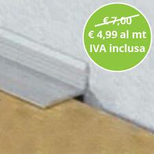 Profilo terminale ad angolo in Alluminio Asta Da 270 Cm per Pavimenti LVT