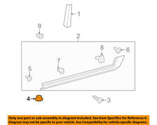 Toyota OEM Rocker Molding Retainer 76924-02010 Factory Sold Individually Various
