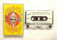 Guns N' Roses Live Tokyo Samurai Vol. 1 Music Cassette Tape Leopard 1992 RARE