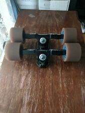 Surf Rodz Precision Longboard Trucks w/ Aftermarket Bushings+Pivot, Wheels