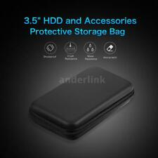 """EVA Shockproof 3.5"""" External Storage HDD Carrying Case Hard Drive Pouch Bag W7W7"""