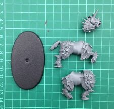 Warhammer Age of Sigmar Slaves to Darkness Chaos Knight Horse and Base E V1 C
