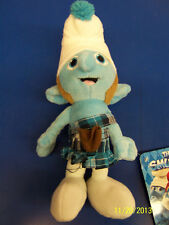 """The Smurfs 2 Movie Smurf Gift Collectible Stuffed Toy 8"""" Plush Doll - Gutsy"""