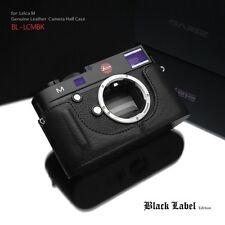 GARIZ Black Label leather case Leica M BL-LCMBK Black