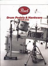 VINTAGE MUSICAL INSTRUMENT CATALOG #10598 - 1999  PEARL DRUM PEDALS & HARDWARE
