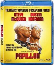 "Steve McQueen ""Papillon"" Dustin Hoffman 1973 Classic Region A Blu-Ray"
