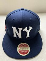 New Era New York Black Yankees NY Negro League Patch 9FIFTY 950 Snapback Hat NEW